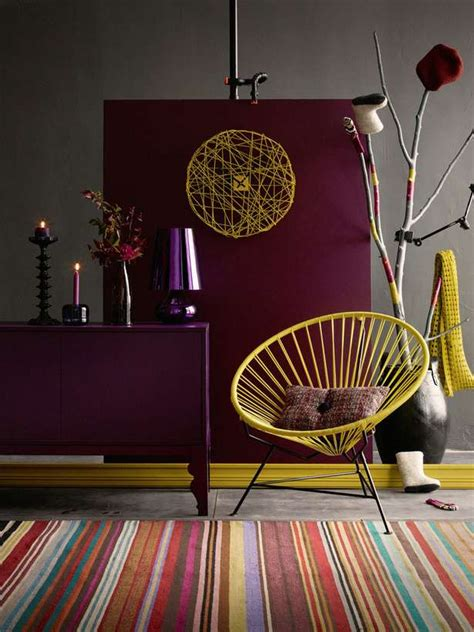 decorating  berry hues  mustard colors decoholic