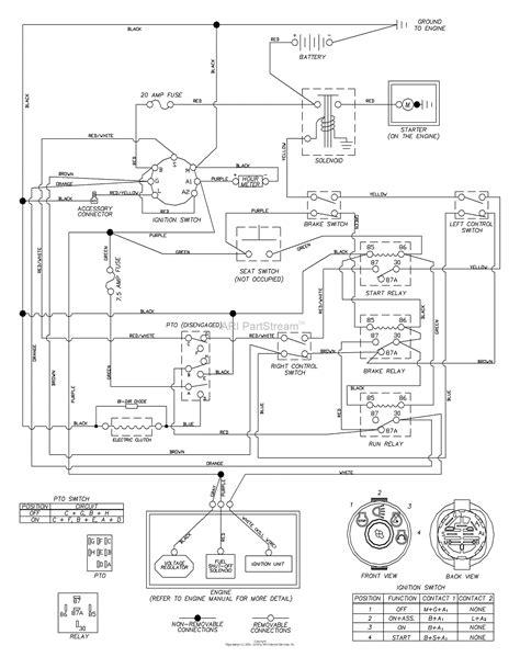Husqvarna Lawn Mower Wiring Diagram by Wiring Diagram For Husqvarna Z254 Wiring Diagram