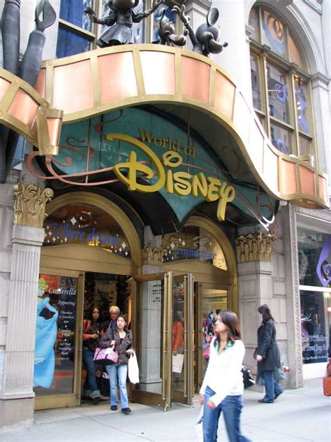 retail amusement parks disney stores