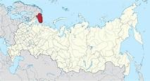 File:Map of Russia - Murmansk Oblast.svg - Wikimedia Commons