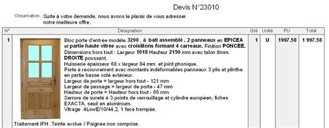 Afficher Exemple De Devis Fenetre Pvc