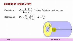 Elektrisches Potential Berechnen : felder elektrisches potential youtube ~ Themetempest.com Abrechnung