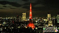 FULL HD 1080P 日本 東京 Tokyo Japan 東京鐵塔 夜 夜景 城市 aq0002098 - YouTube