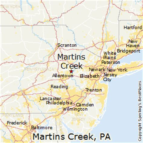 places    martins creek pennsylvania