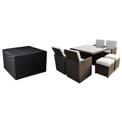 housse pour salon de jardin carr 233 117x117cm achat vente housse meuble jardin housse pour