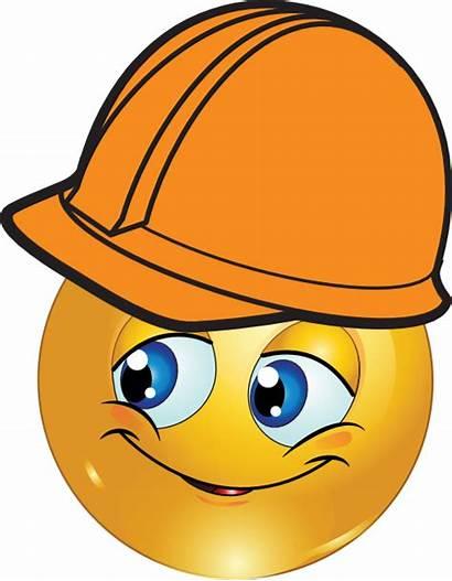 Smiley Engineer Emoji Emoticon Emoticons Clipart Boy