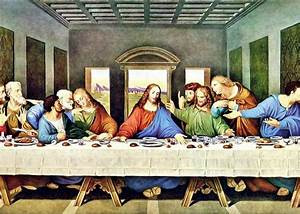 Leonardo da Vinci's The Last Supper restored Greeting Card ...
