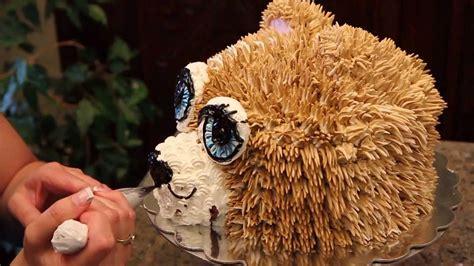 teddy bear cake   decorate  teddy bear head cake