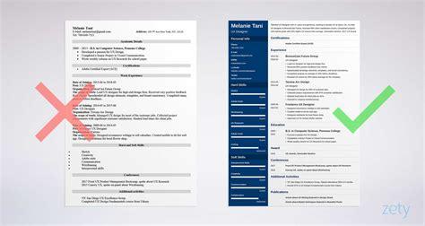 uiux resume samples guide  templates skills