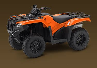 2018 Fourtrax Rancher Options  Honda Powersports