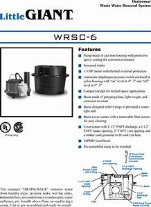 17988 2 Little Giant Wrsc 6 Submittal User Manual