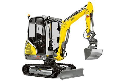 compact excavators wacker neuson models cautrac