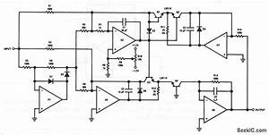 True Rms Detector - Amplifier Circuit - Circuit Diagram