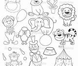 Circus Coloring Pages Ringmaster Printable Getcolorings Col Getdrawings sketch template