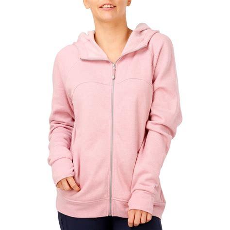 circuit women s longline hoodie pink marle size big w