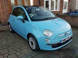 Blue Me Fiat 500 : fiat 500 lounge pan roof blue me car for sale ~ Medecine-chirurgie-esthetiques.com Avis de Voitures