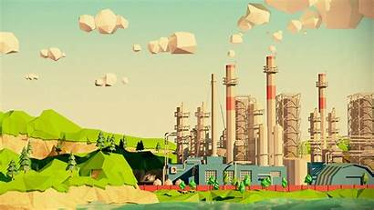 Refinery Poly Perusahaan Polygon Factory Low Riset