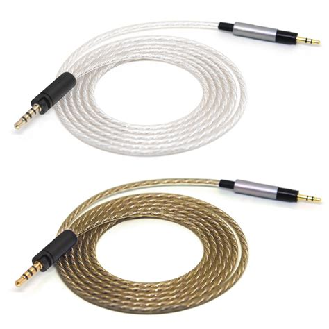 Headphone Wire Spiral by 3 5 To 2 5mm Audio Cable For Sennheiser Momentum Headset