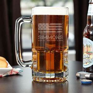 American, Heroes, Colossal, Personalized, Beer, Mug
