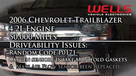 p challenging diagnostics chevrolet trailblazer youtube