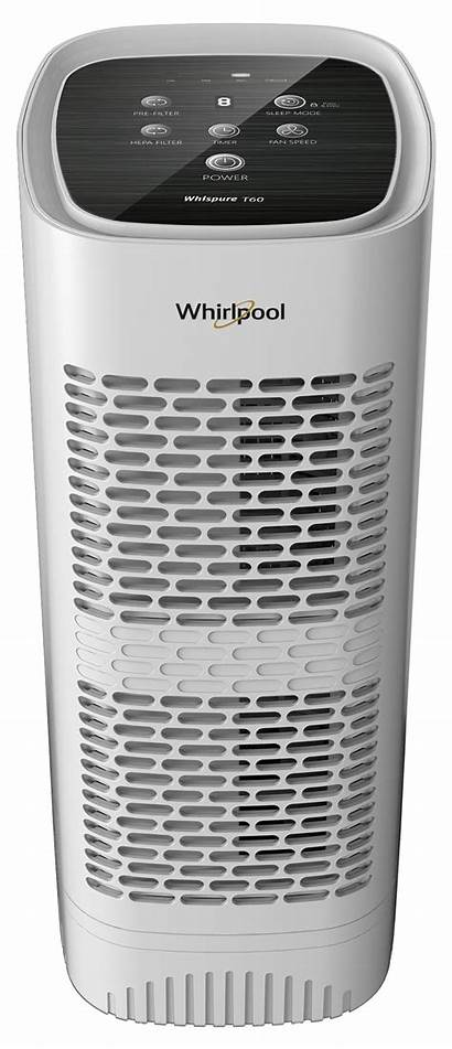 Air Whirlpool Purifier Whispure Filter Tower Pearl