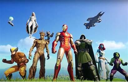 Fortnite Season Chapter Marvel Trailer Themed Nexus