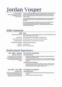 sample it resume how to write stufforg With how to write an it resume
