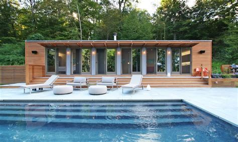 cabin style houses 35 swoon worthy pool houses to daydream about