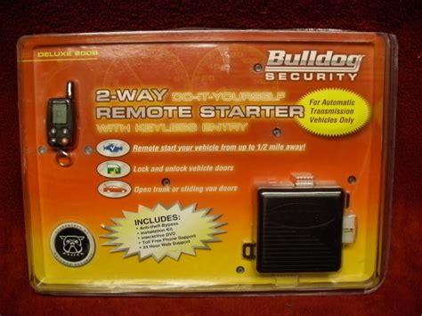 Bulldog Security Remote Car Starter Diagram Auto Wiring