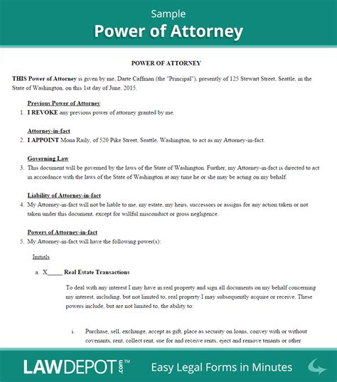 sle power of attorney wills power of attorney