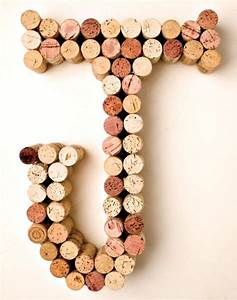 diy wine cork crafts we love this wall art for a kids With wine cork crafts letters