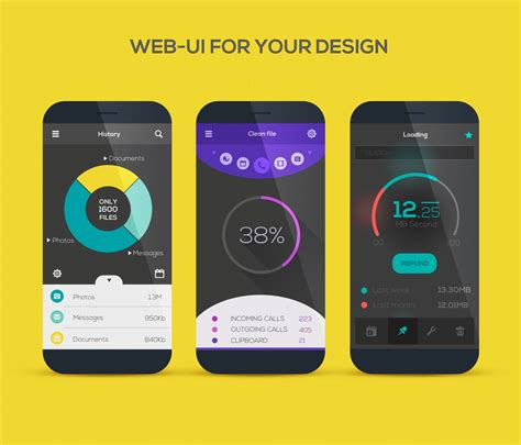 tools  designing  mobile app ui design