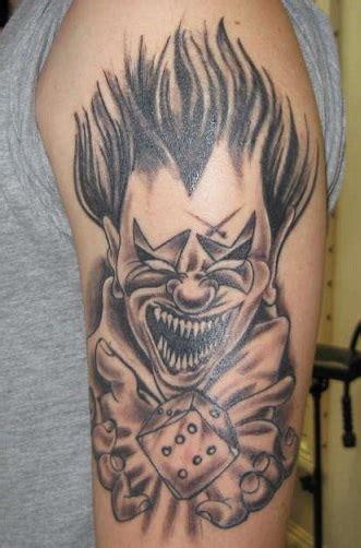 Tattoo Designs Evil Clown