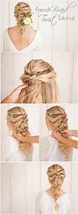 French Braid Twist Tutorial  Love This Wedding Hairstyle