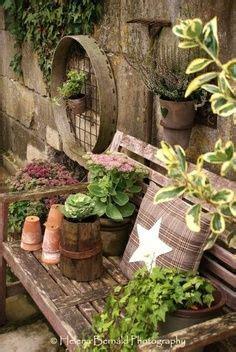 Rustic Garden Ideas Beeskneesvintagegarden