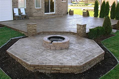 gardening landscaping diy concrete patio concrete
