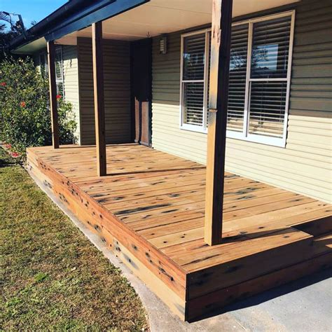recycled decking railway sleeper decking northern