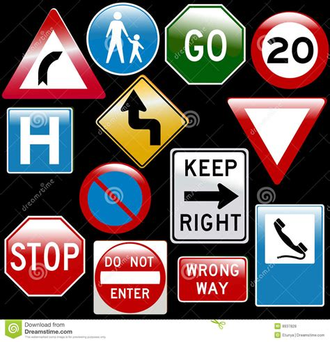 Road traffic signs svg free vector we have about (90,955 files) free vector in ai, eps, cdr, svg vector illustration graphic art design format. Vector road signs stock vector. Illustration of entering ...