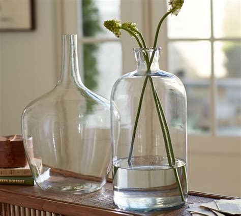 clear glass vases pottery barn