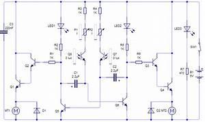 Diagrama Y Circuito Impreso De Mini Robot  U2013 Circuitos Impresos