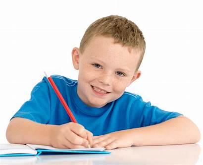 Boy Writing Terms Tutoring Conditions