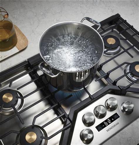 monogram zgurslss  deep recessed gas cooktop natural