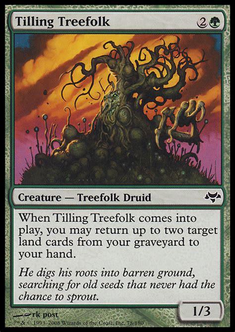 Mtg Treefolk Deck Modern by Tilling Treefolk Magic The Gathering Card Info