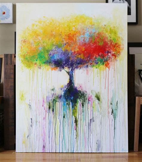 peinture a l acrylique sur toile les 25 meilleures id 233 es concernant peintures sur peinture d 233 butant peinture