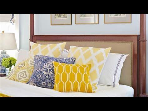 quick  easy bedroom decorating ideas youtube