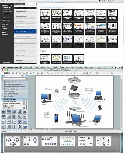 Network Area Metropolitan Networks Computer Diagrams Element