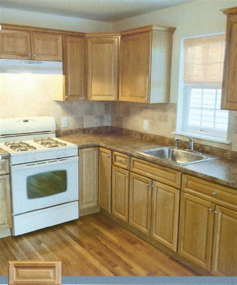 pre finished raised panel oak kitchen cabinets