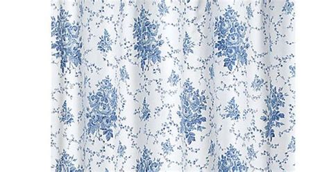 Laura Ashley Sophia Blue 72-inch X 72-inch Fabric Shower Curtain-bed Bath & Beyond For The Black And White Damask Valance Curtains How To Hang A Scarf Without Curtain Rod Ideas For Living Room With 4 Windows Pink Ruffle Shower Disposable Cubicle Ltd Clawfoot Tubs Priscilla Attached Extra Length Cape Town