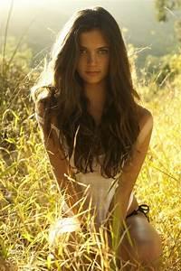 Beautiful Brown Hair Fashion Girl Image 663175 On