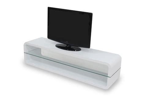 Meuble Tv Bas Blanc Laqu  Banc Tv Blanc Laque Apsipcom